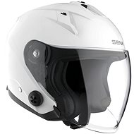 Econo, SENA (lesklá bílá) - Helma na motorku