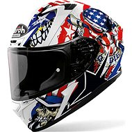 AIROH VALOR UNCLE SAM white / blue / red - Motorbike helmet