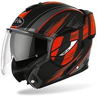 AIROH REV19 IKON černá/oranžová-matná - Helma na motorku