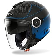 AIROH HELIOS MAP černá/modrá-matná - Helma na motorku