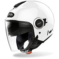 AIROH HELIOS COLOR bílá - Helma na motorku