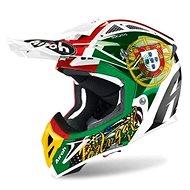 AIROH AVIATOR SIX DAYS 2019 PORTUGAL 2.3 AMSS Red/Green/Gold - Motorbike Helmet