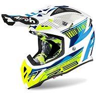 AIROH AVIATOR NOVAK 2.3 AMSS Blue/Fluores. - Motorbike Helmet