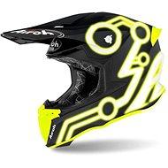 AIROH TWIST NEON Black/Yellow - Motorbike Helmet
