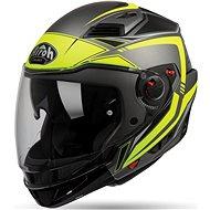 AIROH EXECUTIVE LINE černá/žlutá - Helma na motorku