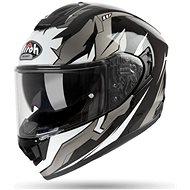 AIROH ST 501 BIONIC Black/White - Motorbike helmet