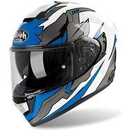 AIROH ST 501 BIONIC White/Blue - Motorbike helmet