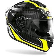 AIROH ST 501 PRIME Black/Grey/Fluo - Motorbike helmet