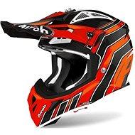 AIROH AVIATOR ACE ART Orange/Black - Motorbike helmet