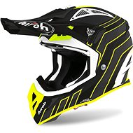 AIROH AVIATOR ACE ART Black/Fluores. - Motorbike helmet