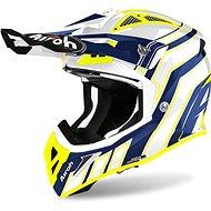 AIROH AVIATOR ACE ART Blue/Fluores. - Motorbike helmet