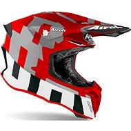AIROH TWIST 2.0 FRAME Red/Grey-Matte - Motorbike Helmet
