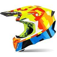 AIROH TWIST 2.0 FRAME turquoise / fluo-matt - Motorbike helmet
