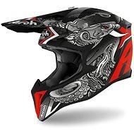 AIROH WRAAP OCTOPUS Black/Red - Motorbike Helmet