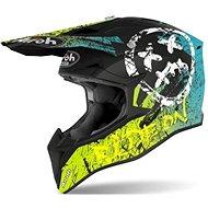 AIROH WRAAP SMILE Yellow/Black - Motorbike Helmet