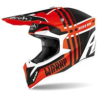 AIROH WRAAP BROKEN černá/oranžová - Helma na motorku