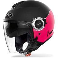 AIROH HELIOS MAP černá/růžová-matná  - Helma na motorku