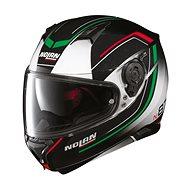 Nolan N87 Savoir Faire N-Com Fade White 56 - Helma na motorku