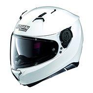 Nolan N87 Classic N-Com Metal White 5 - Helma na motorku