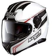 Nolan N87 Rapid N-Com Metal White 17 - Helma na motorku