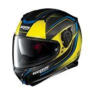 Nolan N87 Savoir Faire N-Com Fade Flat Led Yellow 58 - Helma na motorku