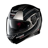 Nolan N87 Savoir Faire N-Com Fade Silver 59 - Helma na motorku