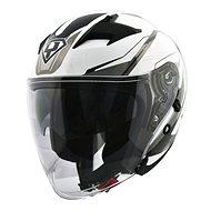 Yohe 878-1M Graphic, White  - Helma na motorku