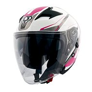 Yohe 878-1M Graphic, Pink  - Helma na motorku