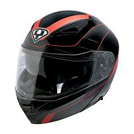 Yohe 950-16, Black, Red  - Helma na motorku