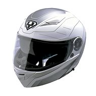 Yohe 950-16, White, Grey  - Helma na motorku