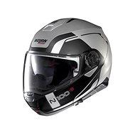 Nolan N100-5 Consistency N-Com Flat Silver 21  - Helma na motorku