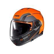 Nolan N100-5 Consistency N-Com Flat Led Orange 27  - Helma na motorku