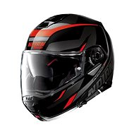 Nolan N100-5 Lumiére N-Com Glossy Black 39  - Helma na motorku