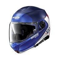 Nolan N100-5 Plus Distinctive N-Com Flat Imperator Blue 29  - Helma na motorku