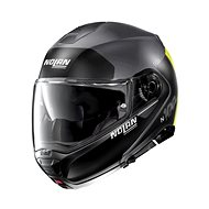 Nolan N100-5 Plus Distinctive N-Com Flat Lava Grey 25  - Helma na motorku