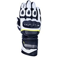 OXFORD RP-2 2.0, black / white / yellow fluo - Motorcycle Gloves