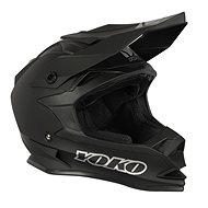 YOKO SCRAMBLE Matt Black - Motorbike Helmet