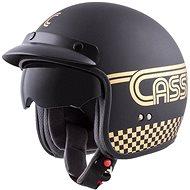 CASSIDA Oxygen Rondo, (černá matná/zlatá) - Helma na motorku