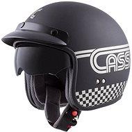 CASSIDA Oxygen Rondo, (černá matná/stříbrná) - Helma na motorku