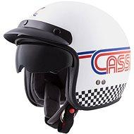 CASSIDA Oxygen Rondo, (bílá/modrá/červená/černá) - Helma na motorku