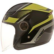 CASSIDA Reflex (black / yellow fluo / gray, size M) - Scooter Helmet