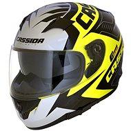CASSIDA Integral 2.0 Perimetric (žlutá fluo/černá/bílá/šedá, vel. M) - Helma na motorku