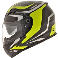 CASSIDA Integral 2.0 (černá/šedá/žlutá fluo, vel. L) - Helma na motorku