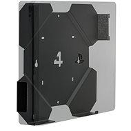 4mount - Wall Mount for PlayStation 4 Slim Black - Držák na zeď