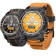 myPhone Hammer Watch oranžovo-černé - Chytré hodinky