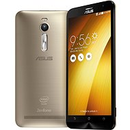 ASUS ZenFone 2 ZE551ML 64GB Sheer Gold Dual SIM - Mobilní telefon