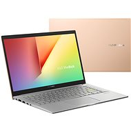 Asus Vivobook 14 K413FA-EB784T Hearty Gold kovový - Notebook