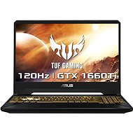 ASUS TUF Gaming FX505DU-AL130T Stealth Black - Herní notebook