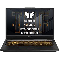 Asus TUF Gaming A17 FA706QM-HX034T Eclipse Gray - Herní notebook