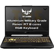ASUS TUF Gaming A15 FA506IU-AL006T Fortress Gray kovový - Herní notebook